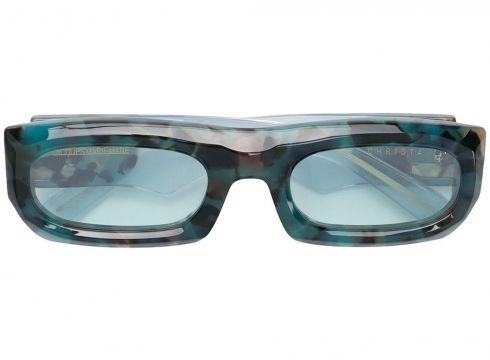 Jacques Marie Mage lunettes de soleil Christa - Bleu(65471744)