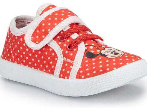 Mickey Mouse MONTY Kırmızı Kız Çocuk Sneaker - FLO Ayakkabı(72776964)