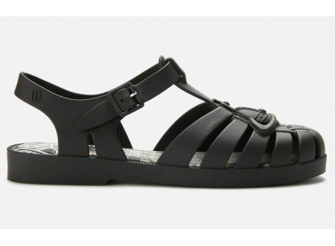Vivienne Westwood for Melissa Women\'s Possession Flat Sandals - Black Matt Orb - UK 4 - Schwarz(90306469)