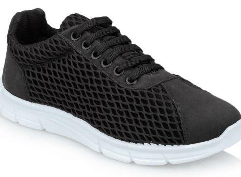 Polaris 91.313381.z Siyah Kadın Spor Ayakkabı - FLO Ayakkabı(88809228)