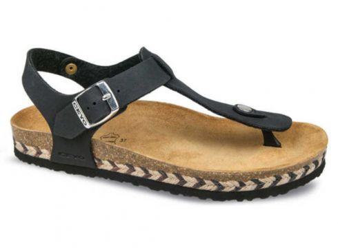 Ceyo Siyah Kadın Sandalet(114229075)