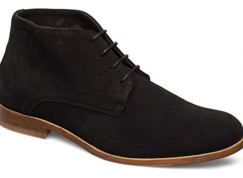 Alias Classic Suede Midcut Shoes Business Laced Shoes Schwarz ROYAL REPUBLIQ(108839430)