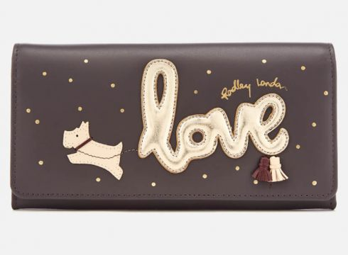 Radley Women\'s Love Is In The Air Large Matinee - Charcoal(69398021)