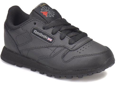 Reebok CLASSIC LEATHER Siyah Unisex Çocuk Koşu Ayakkabısı - FLO Ayakkabı(50738796)