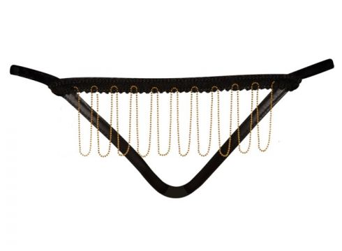 Schwarzer String F122 von Noir Handmade(89076489)