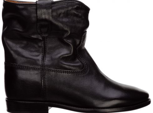 Stivaletti stivali donna women's leather ankle boots booties cluster(121111858)