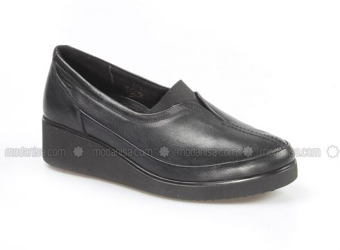 Black - Casual - Shoes - Fast Step(110317580)
