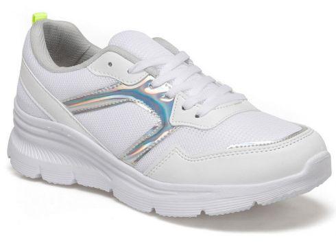 Torex Beyaz Neon Sarı Kadın Koşu & Antrenman Ayakkabısı(116819247)