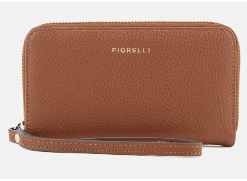 Fiorelli Women\'s Finley Medium Zip Around Wallet - Tan(50502787)