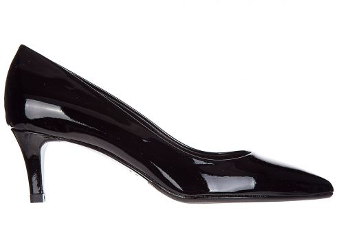 Women's leather pumps court shoes high heel(118071298)