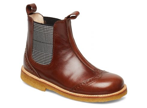 Booties - Flat - With Elastic Stiefel Braun ANGULUS(89295935)