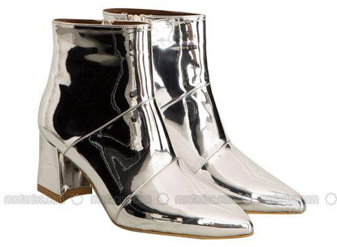 Silver tone - Boot - Boots - Mecrea(110323251)