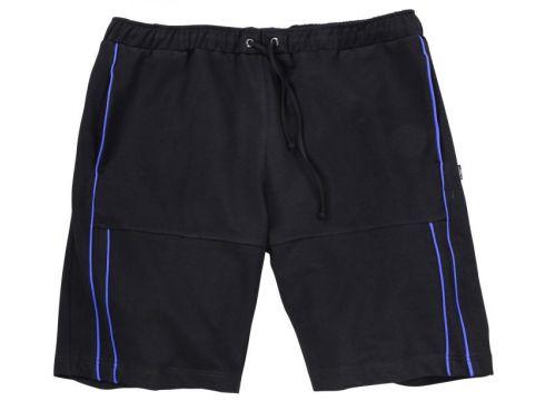 Authentic Klein - Sportive Jogging-Hose mit Kontraststreifen, kurz - schwarz - 37(92059727)