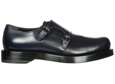 Men's classic leather formal shoes slip on monkstrap(118074256)