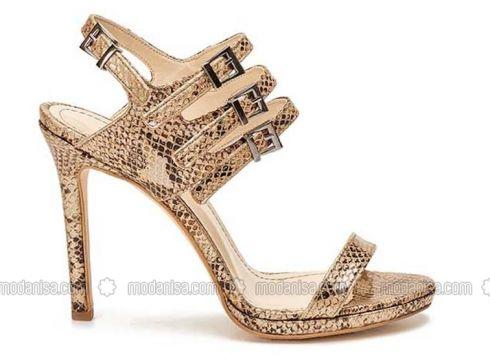 Gold - Golden tone - High Heel - Shoes - Pierre Cardin Ayakkabı(100917298)