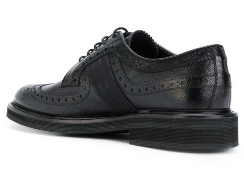 Versace derbies Greek Key - Noir(76465462)
