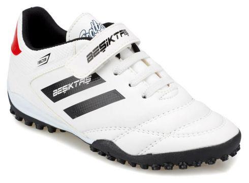 BJK Adolf Turf J Bjk Beyaz Siyah Erkek Halı Saha Ayakkabısı - FLO Ayakkabı(77275807)
