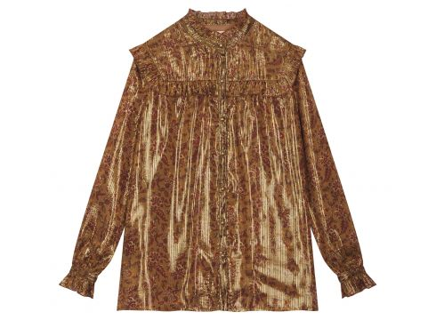 Bluse aus Lurex Bila - Damenkollektion -(94955454)