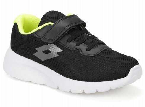 Lotto Megalight Cl Sl Siyah Gri Unisex Çocuk Sneaker Ayakkabı - FLO Ayakkabı(82815436)