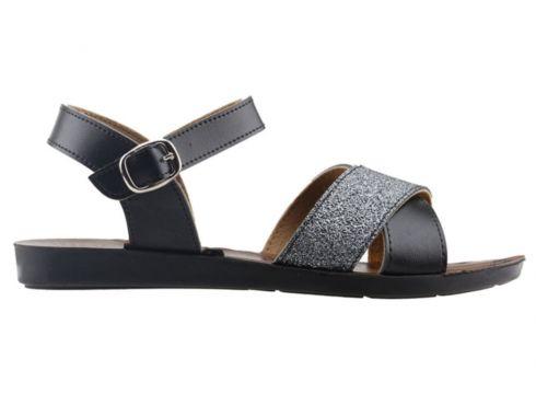 Ayakland Siyah Kadın Sandalet(118036488)