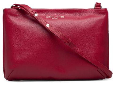 Trudy Zip Bag Bags Small Shoulder Bags - Crossbody Bags Rot LEXINGTON CLOTHING(118240574)