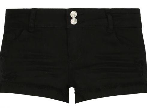 Schwarze, kurze Shorts(113853503)