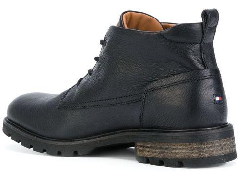 Tommy Hilfiger bottines à lacets - Noir(76481289)