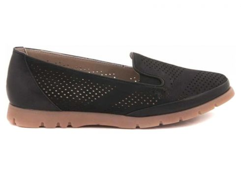 Tanca Hakiki Deri Siyah Kadın Casual Ayakkabı(110973654)