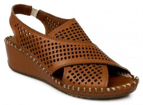 Stella Casual Günlük Dolgu Topuk Taba Kadın Sandalet 20267z(110962468)
