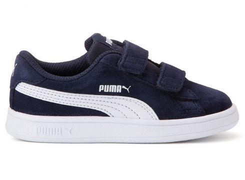 Zapatillas de piel Puma Smash V2 Sd V(121970109)