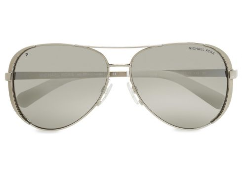 Chelsea Pilotensonnenbrille Sonnenbrille Silber MICHAEL KORS SUNGLASSES(116271798)