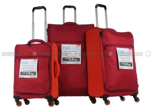 Maroon - Suitcases - İt Luggage(110328913)