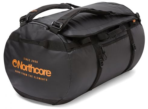 Sac polochon Northcore 85L - Black Orange(111320688)