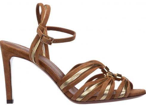 Women's suede heel sandals(118230387)