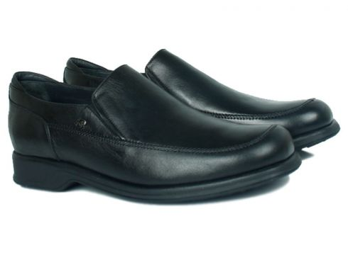 KİNG PAOLO Hakiki Deri Siyah Erkek Ayakkabı(105148758)
