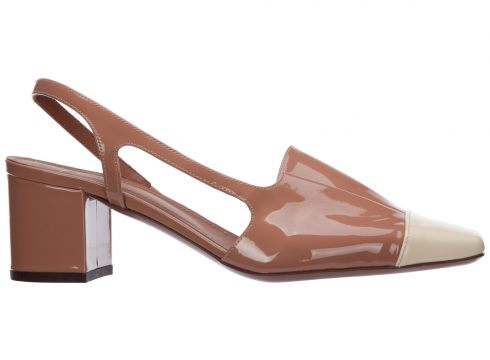 Women's leather pumps court shoes high heel(118300682)